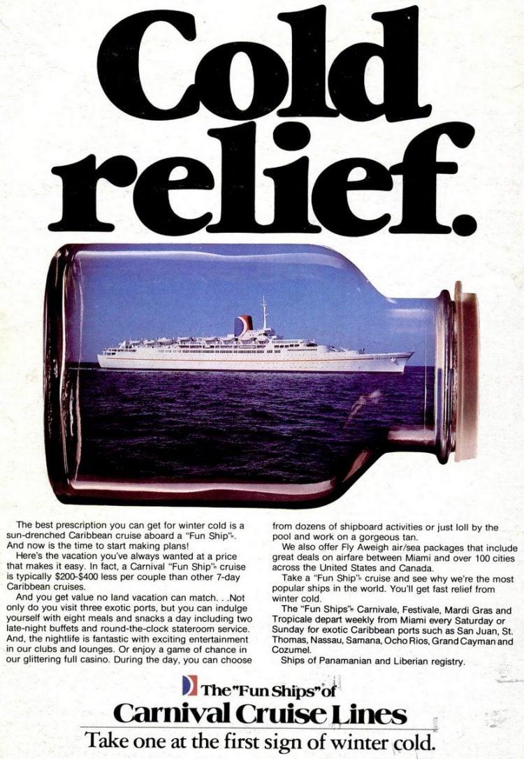 Cruise Travel Feb 1982 Carnvial