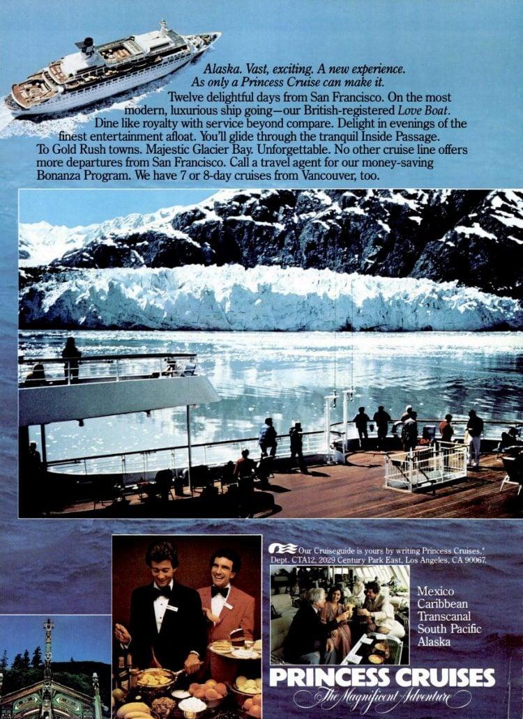 Cruise Travel Feb 1982 Princess Alaska