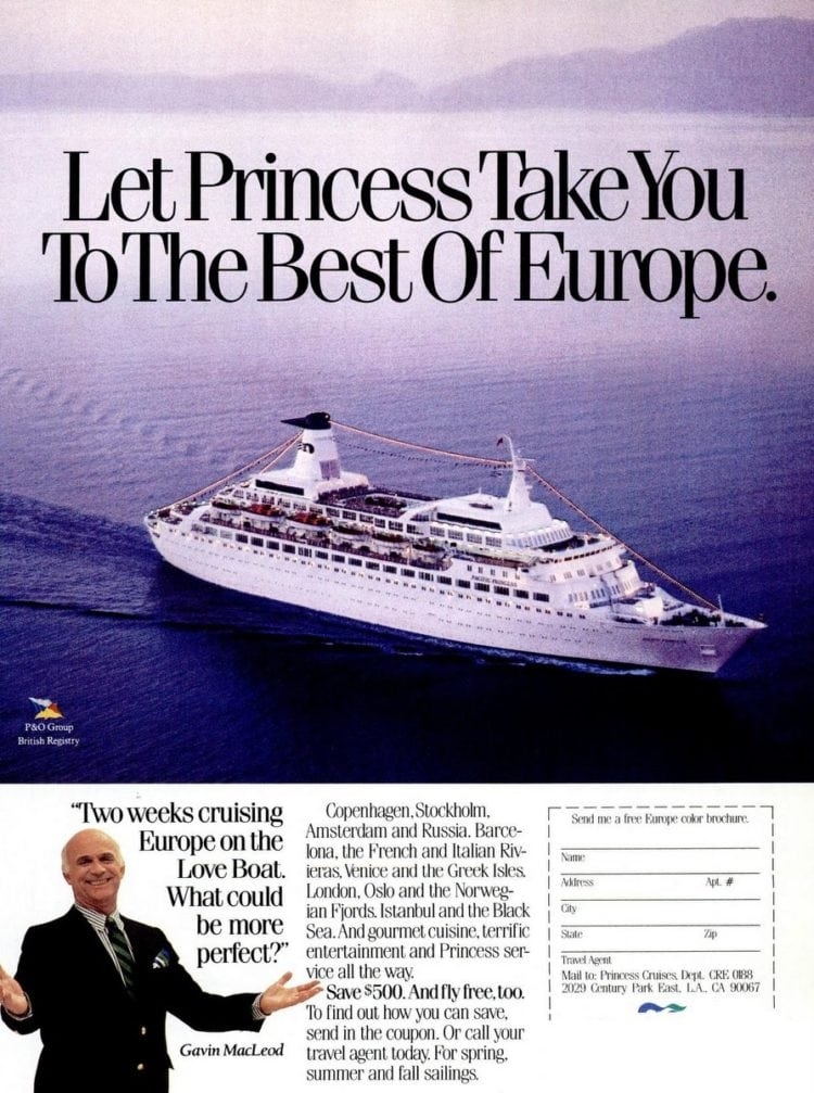 Europe on the Love Boat