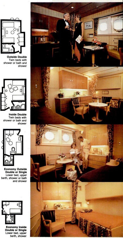 Cruise Travel Mar 1982 Rotterdam 5
