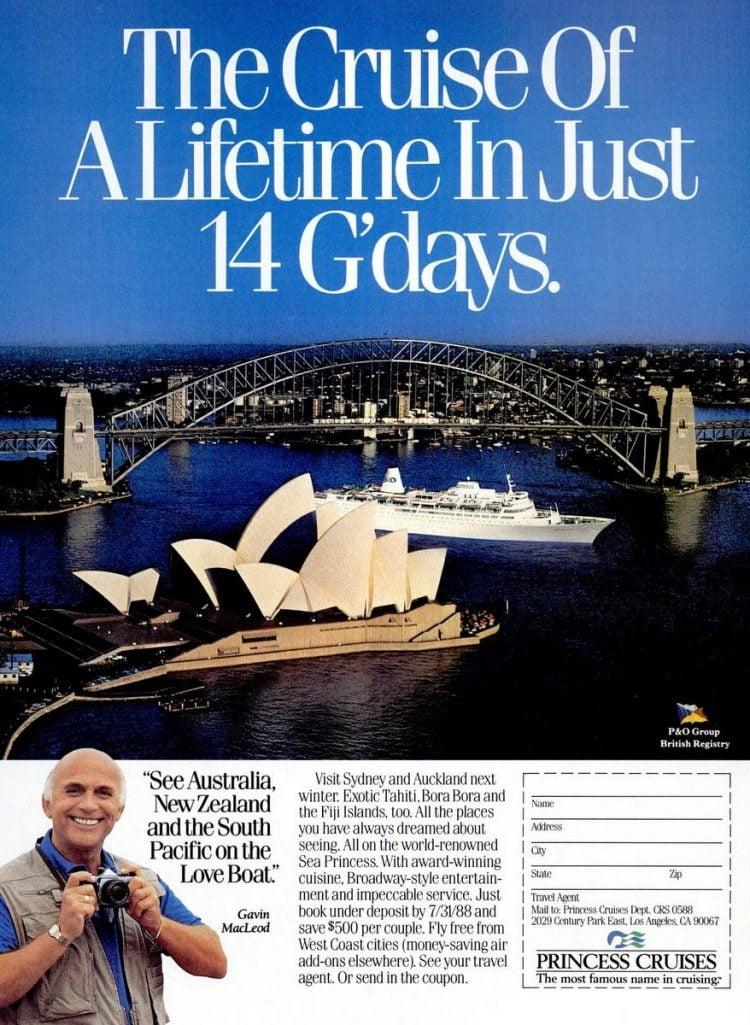 Cruise Travel May 1988 Princess