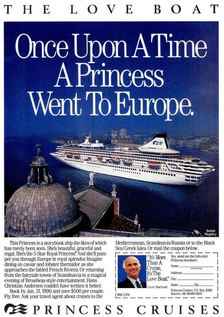 Cruise Travel Oct 1989 Princess
