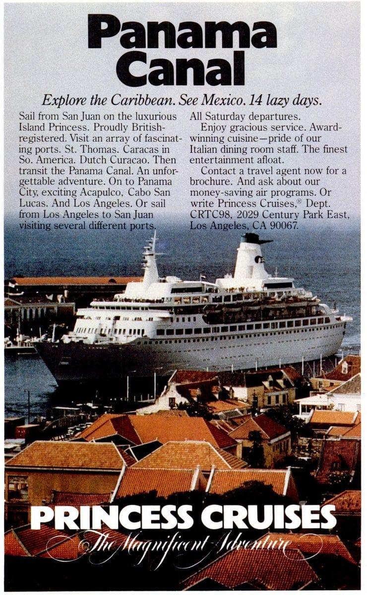 Cruise Travel Sep 1980 Princess Cruises