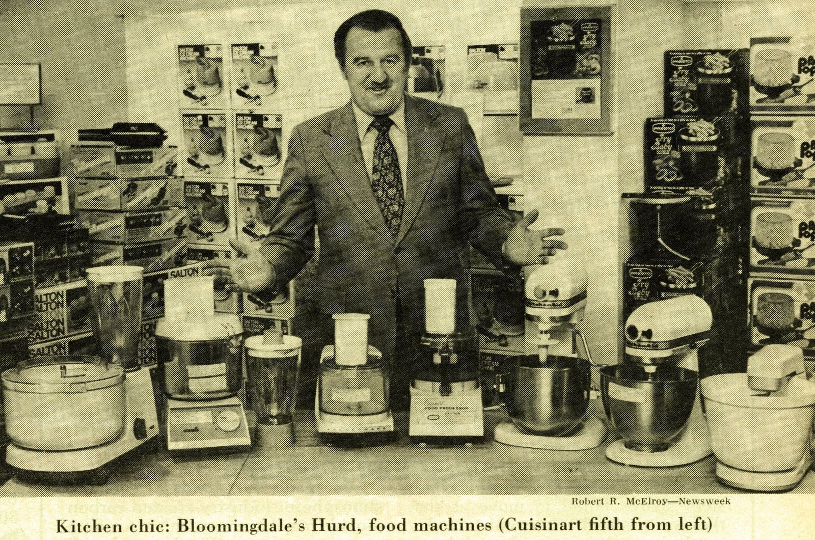 Cuisinarts and other retro food processors from 1977