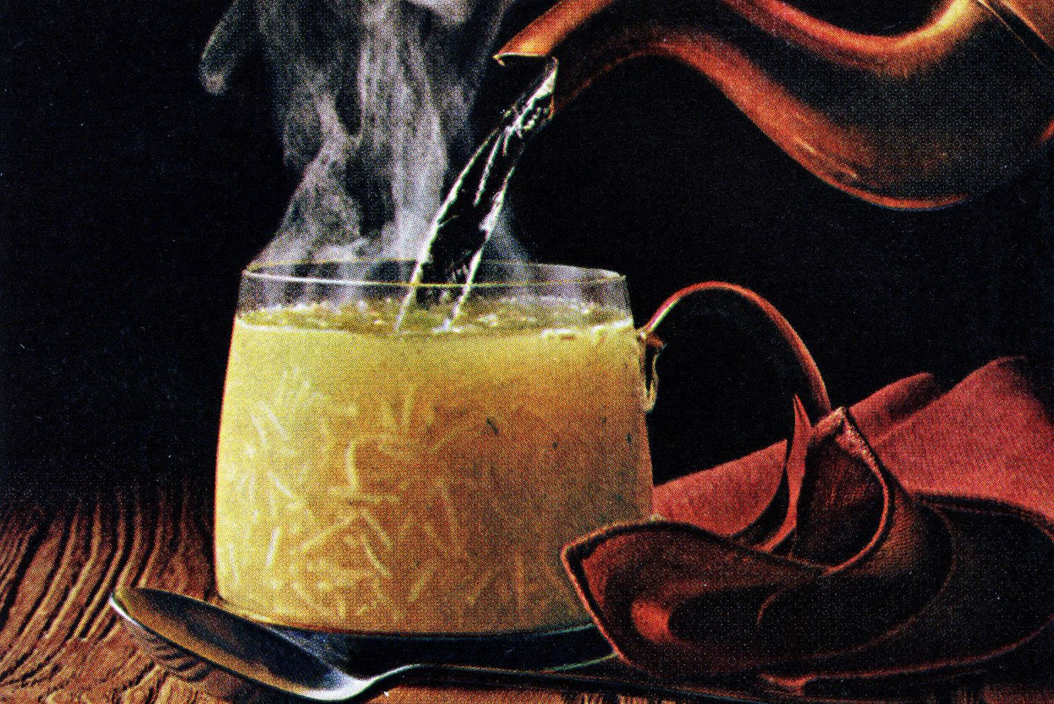 Cup-a-Soup debuted in 1972, and became a super-quick lunchtime staple (1972)