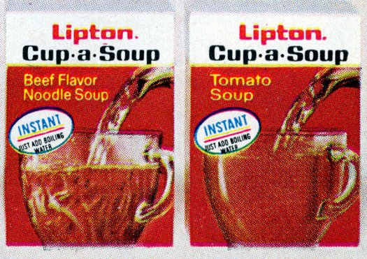 Cup-a-Soup debuted in 1972, and became a super-quick lunchtime staple (1974)