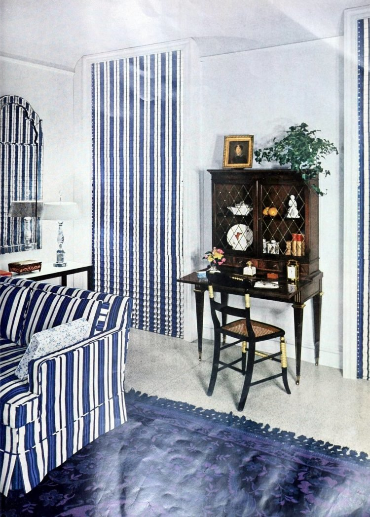 Curtains and window coverings from the 1950s (2)