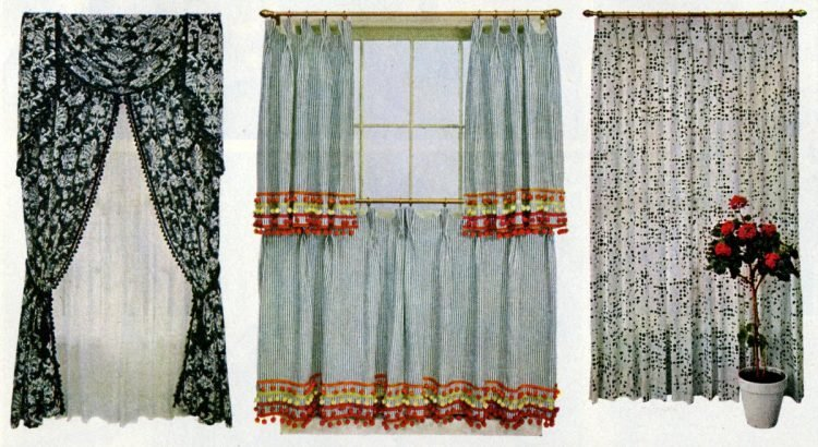 Curtains & drapes Expert advice for home decor from the sixties