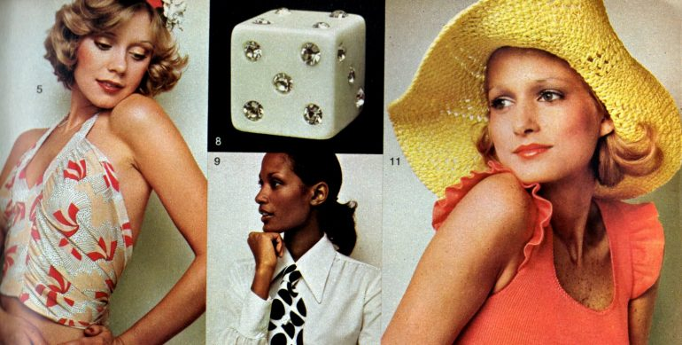 Cute and cheap womens' fashions from the 70s