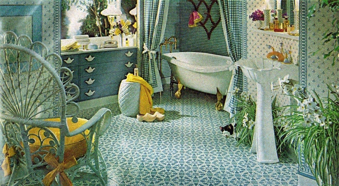 Retro 70s Bathroom Decor Styles Ideas Click Americana