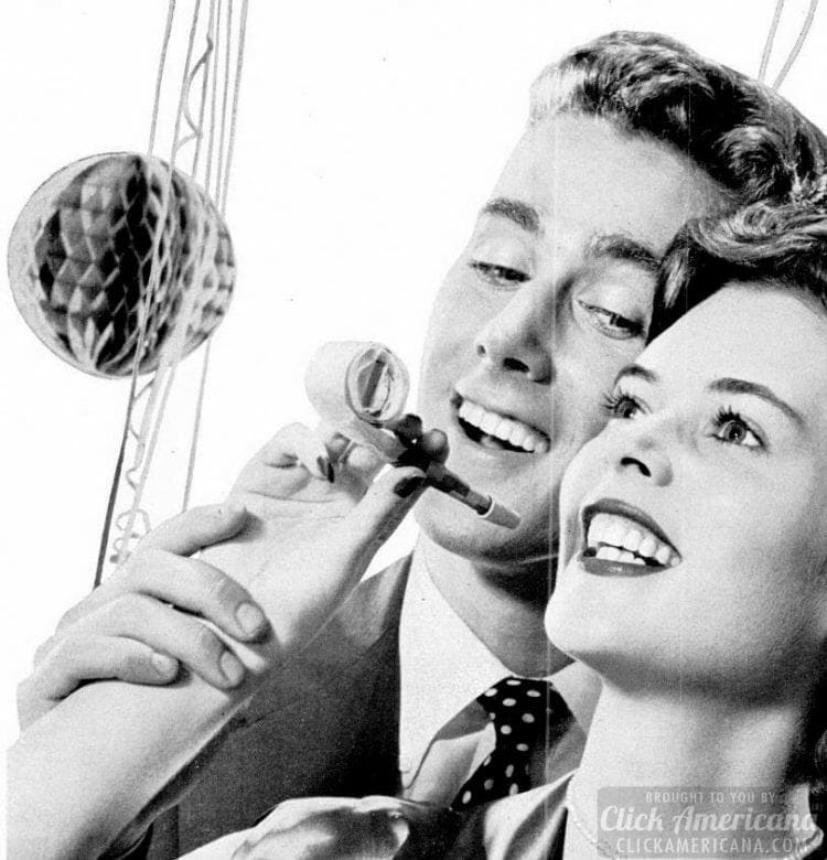 Cute couple from 1952