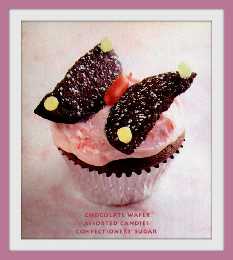 Cute ways to decorate cupcakes from 1995 - butterfly