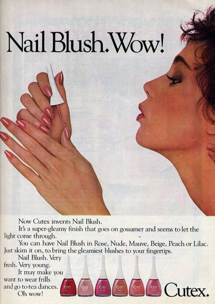 Cutex Nail Blush 1982