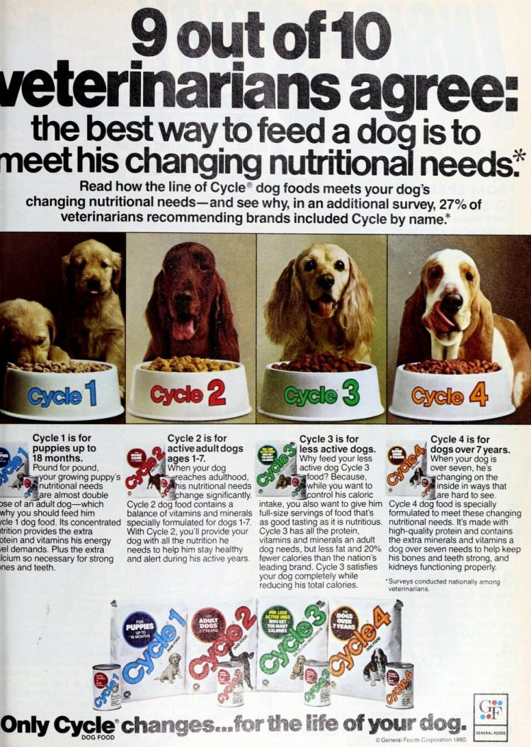 Cycle dog food - 1980