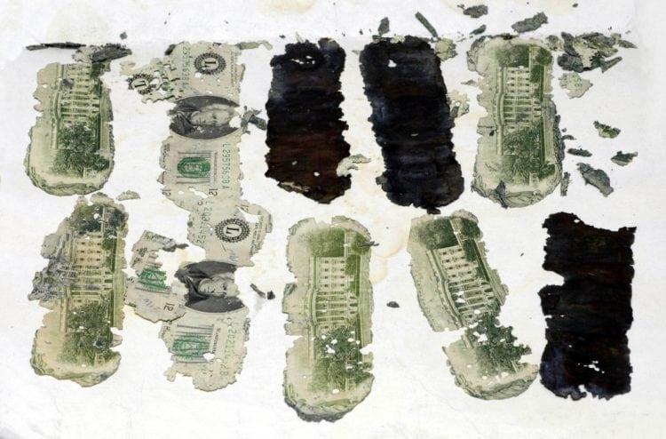 DB Cooper money - cash - FBI