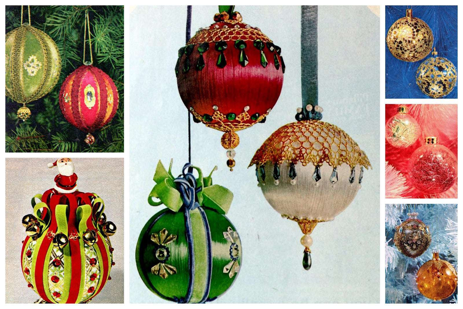 20 Retro Diy Christmas Ornament Craft Ideas From The 60s That Are Just As Awesome As Ever Click Americana