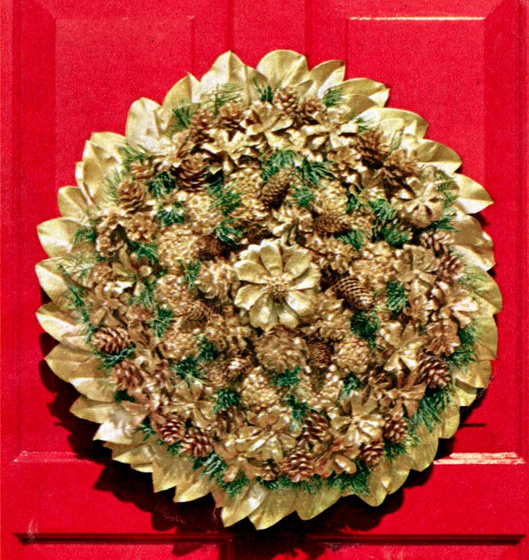 DIY Christmas wreath ideas from the 60s (1)