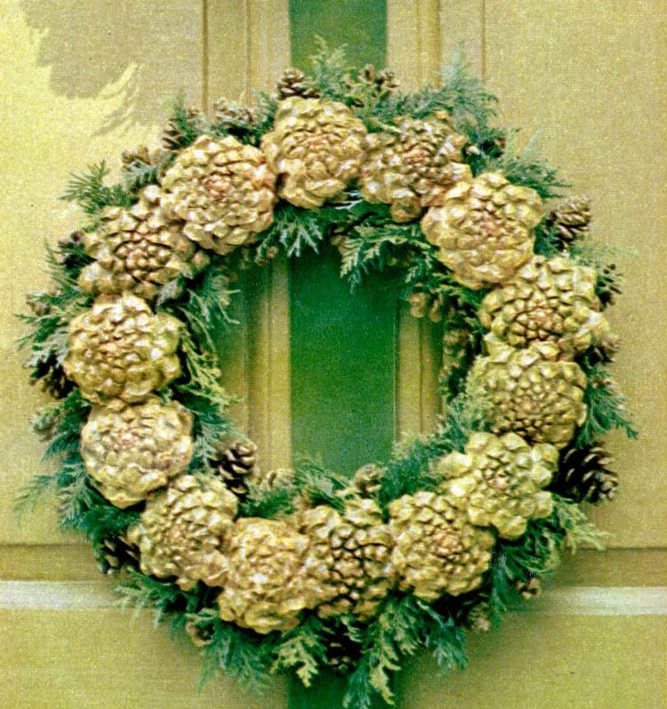 DIY Christmas wreath ideas from the 60s (2)
