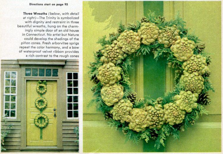 DIY Christmas wreaths - Trinity