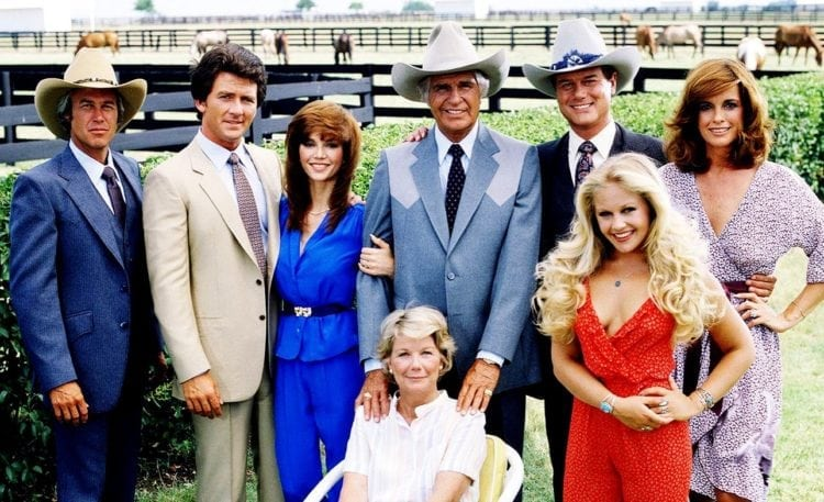 Dallas TV show cast