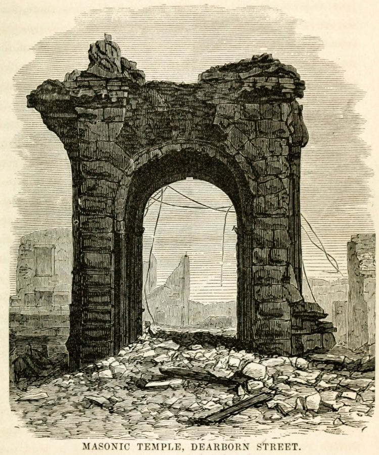 Damage and aftermath from the Great Chicago Fire of 1871 (2)