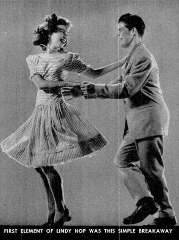 Dancing 1943 - Lindy Hop (1)