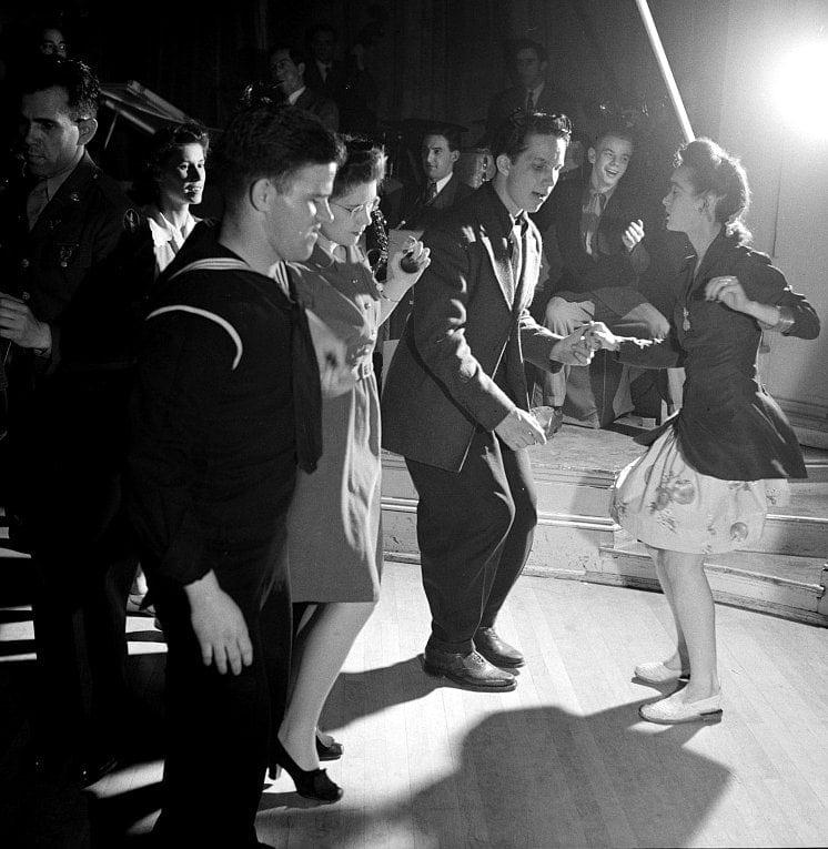 Dancing Jitterbugging at an Elk's Club