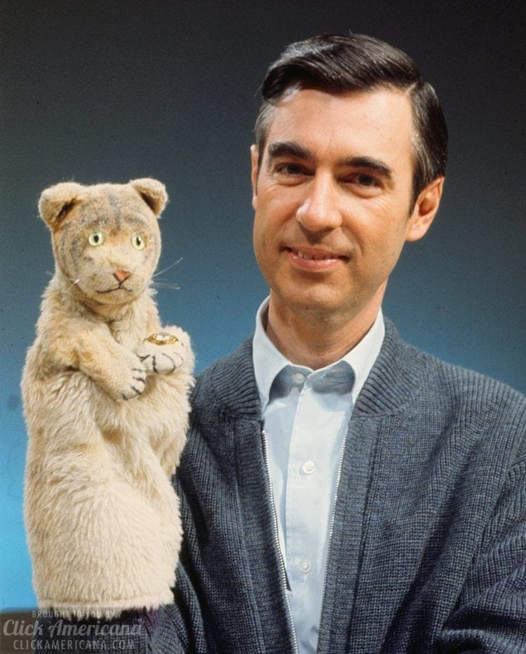 Daniel Tiger and Fred Rogers - Mister Rogers Neighborhood