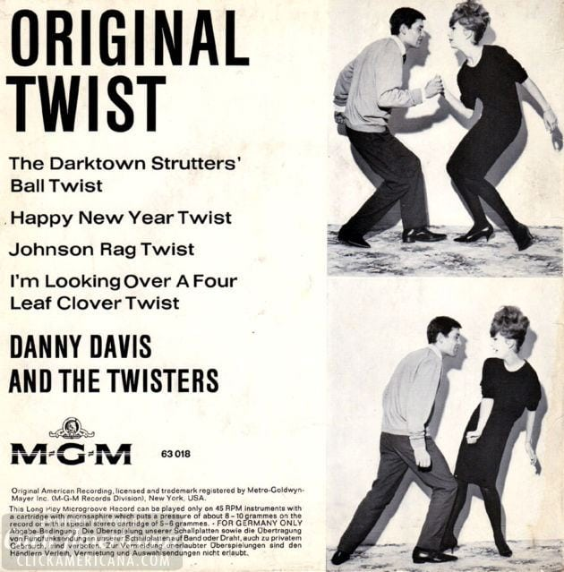 Danny Davis and the Twisters - 1961