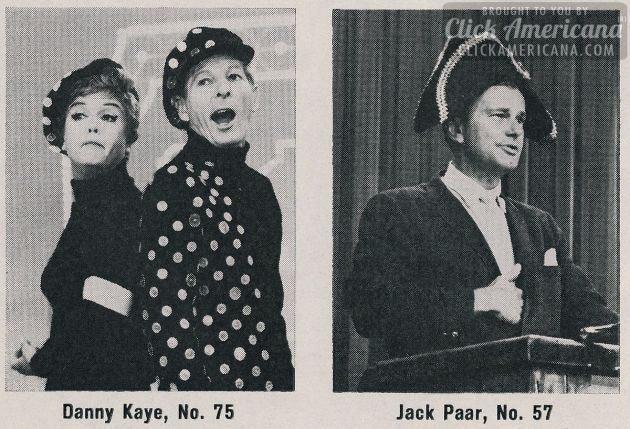 Danny Kaye - Jack Paar - 1964