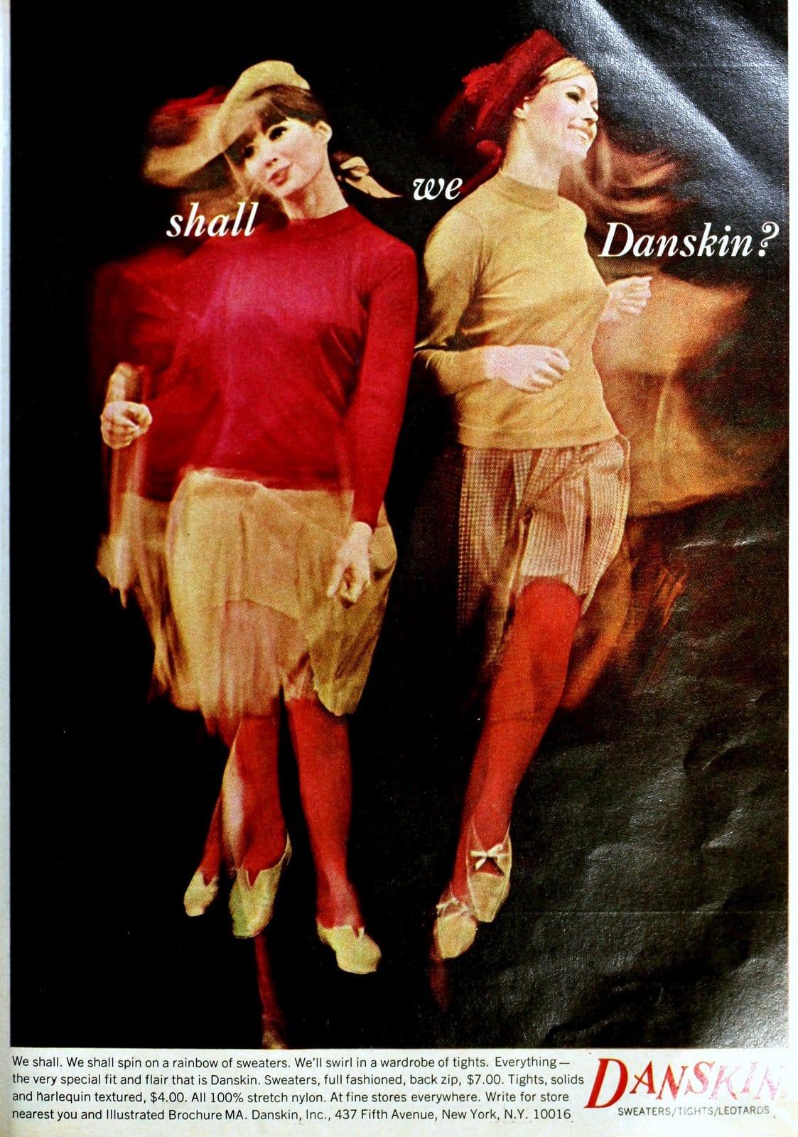 Danskin womenswear - Skirts and sweaters (1965)