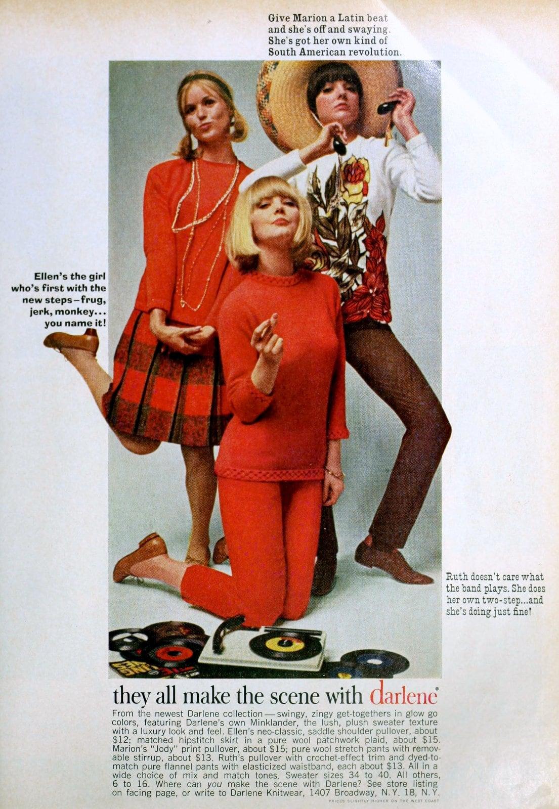 Darlene Collection sweaters and womenswear (1965)