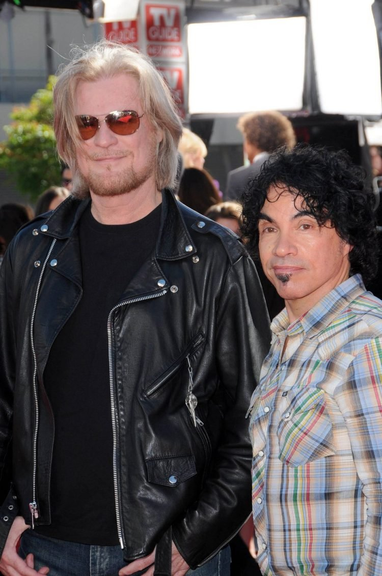 Daryl Hall and John Oatesat the American Idol Grand Finale 2010, Nokia Theater, Los Angeles, CA. 05-26-10