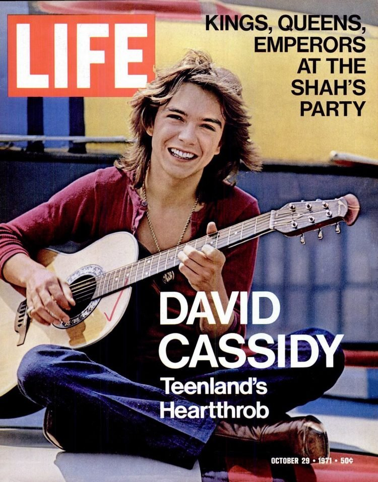 David Cassidy - LIFE Oct 29, 1971
