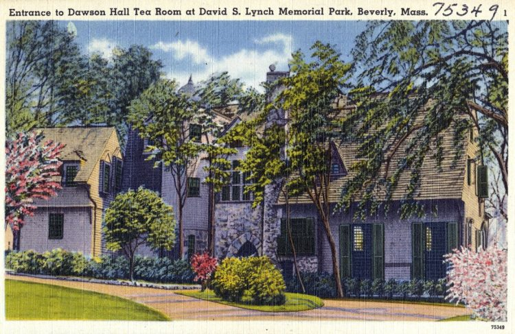 Dawson Hall Tea Room at David S. Lynch Memorial Park, Beverly, Mass