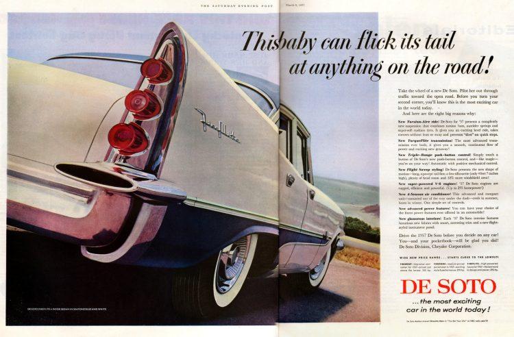 Classic De Soto cars - Desoto from 1957