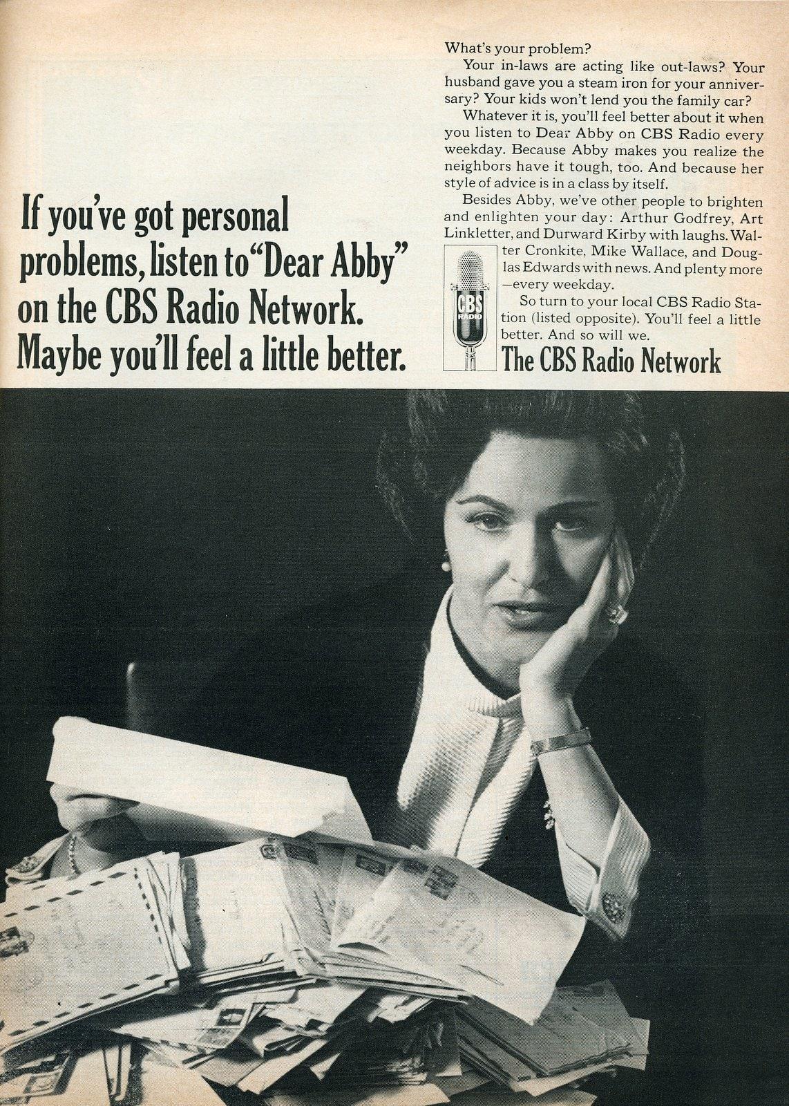 Dear Abby on the CBS Radio Network