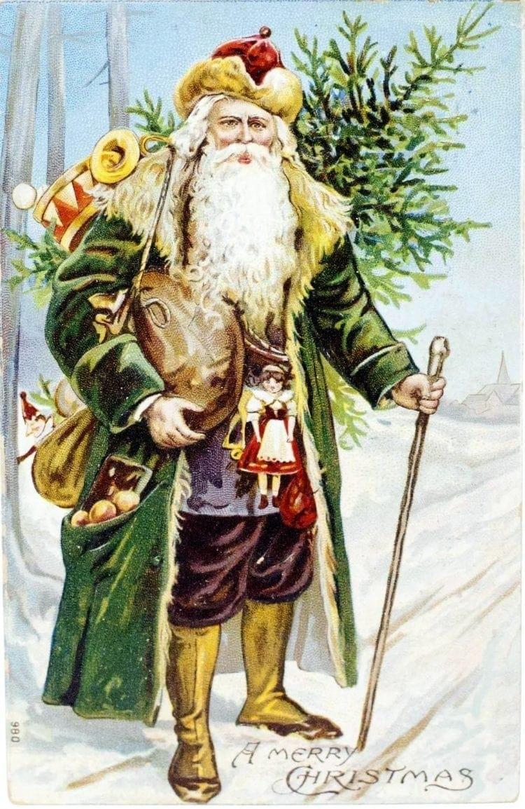St Nicholas postcard