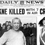 Death of Knute Rockne - Newspaper from April 1 1931 - Plane crash (3)