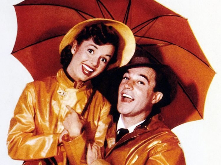 Debbie Reynolds and Gene Kelly - Singin in the Rain vintage film