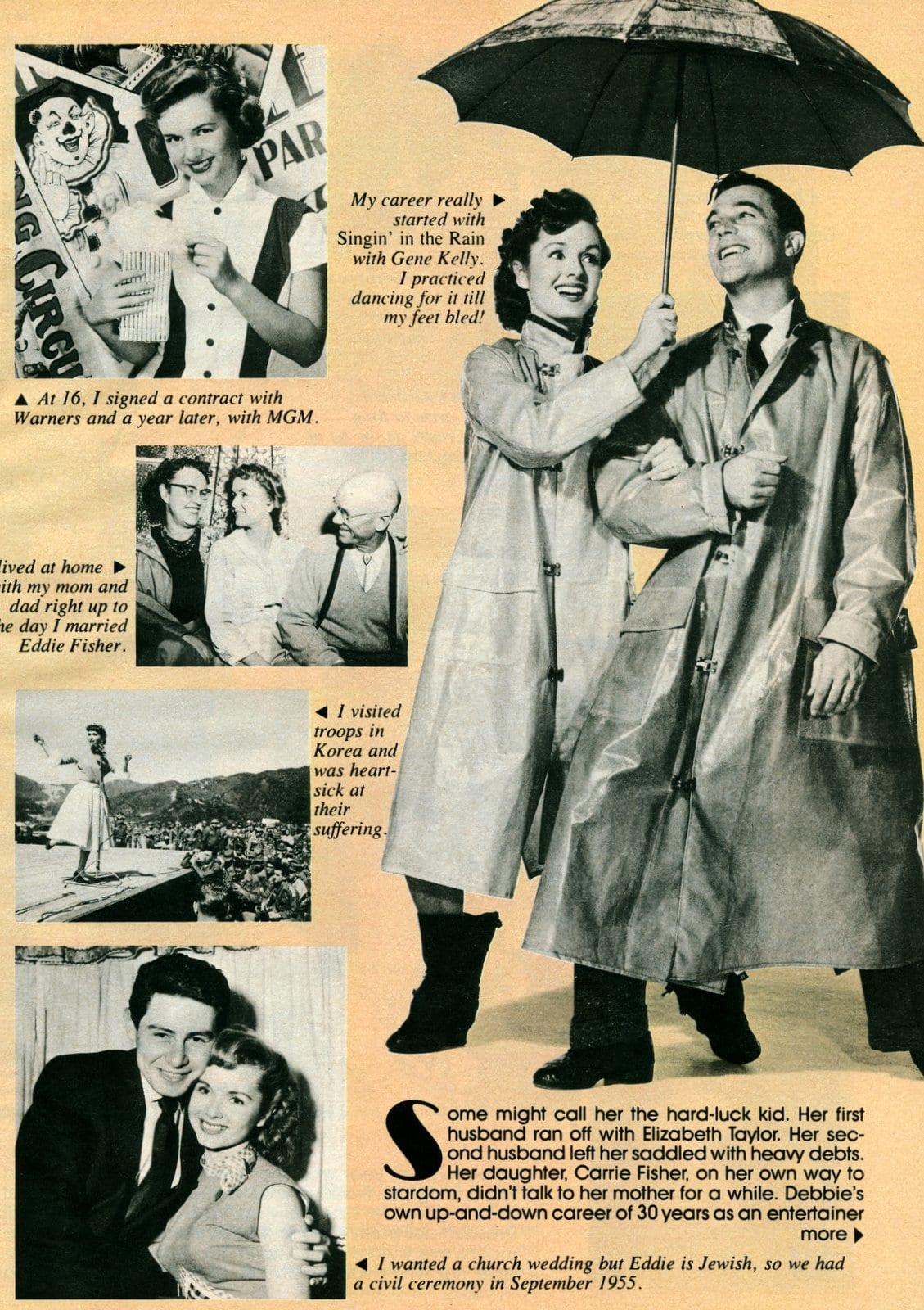 Debbie Reynolds personal photo scrapbook (1)