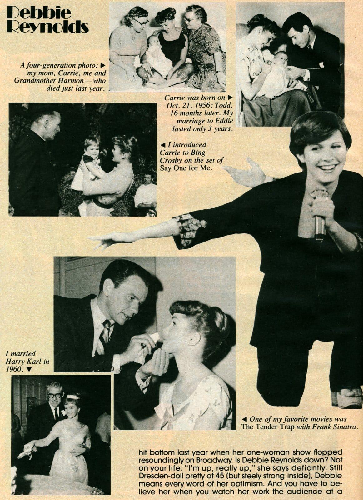 Debbie Reynolds personal photo scrapbook (2)