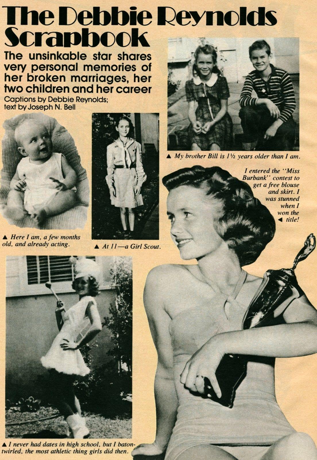 Debbie Reynolds personal photo scrapbook (4)