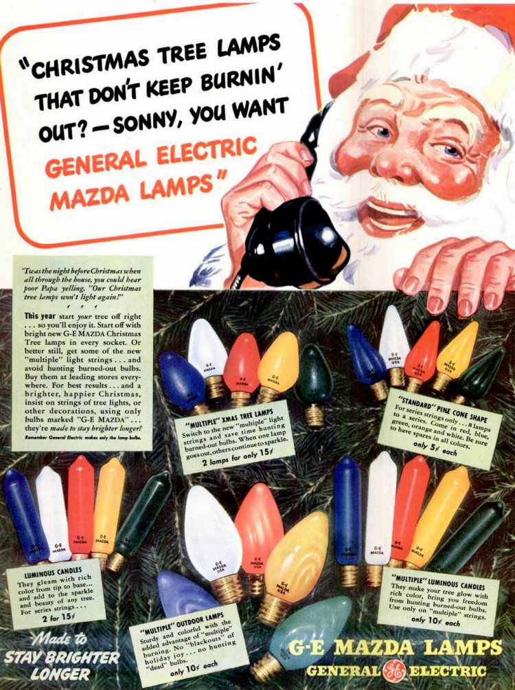 Dec 1, 1941 Christmas lights