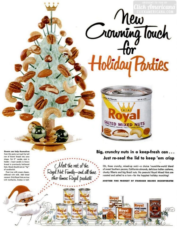 Dec 17, 1956 Nuts on a christmas tree