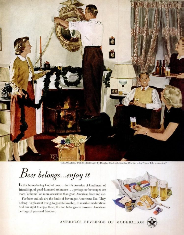 Dec 19, 1949 Christmas beer twee
