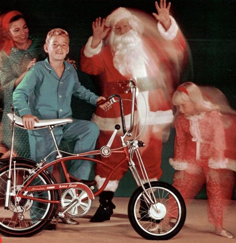 Dec 1968 Schwinn bikes for Christmas