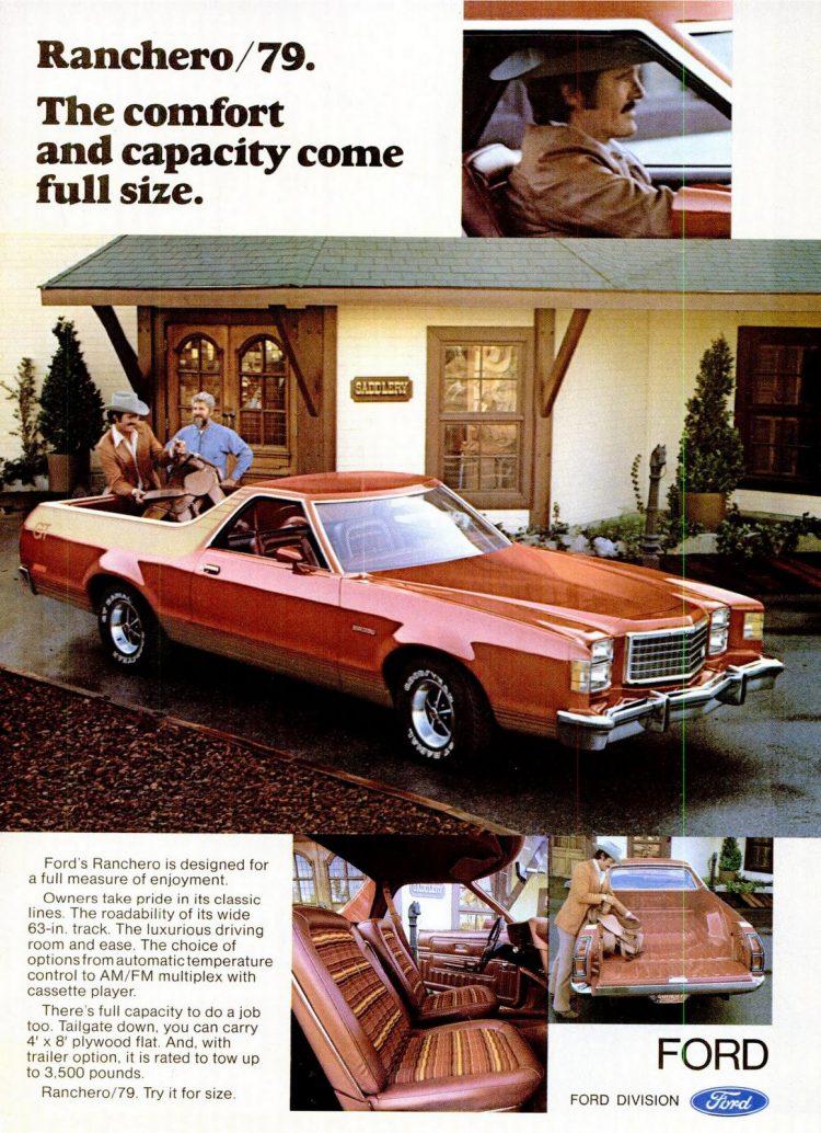 Dec 1978 Ford Ranchero 1979
