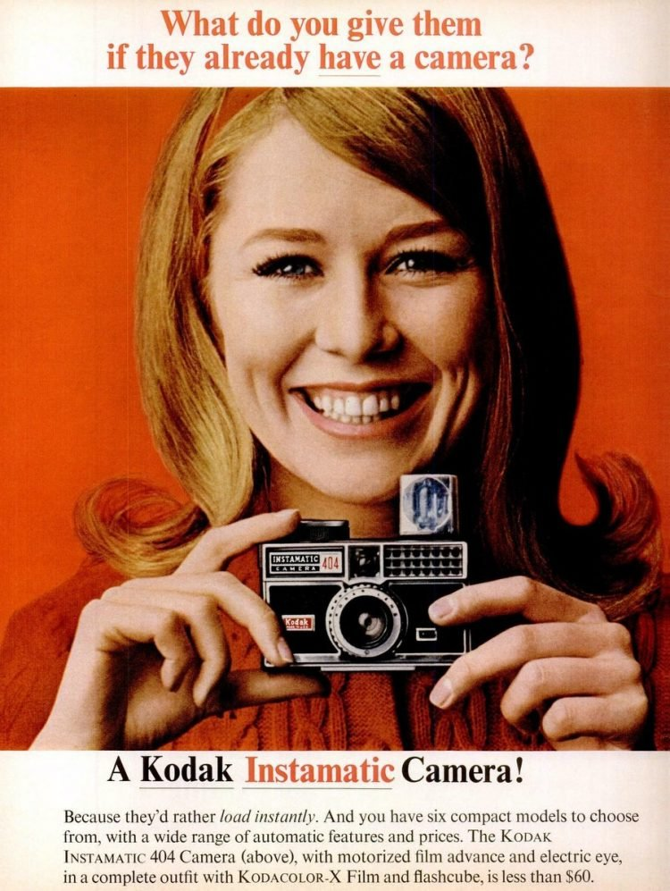 Dec 2, 1966 Kodak Instamatic 404 camera
