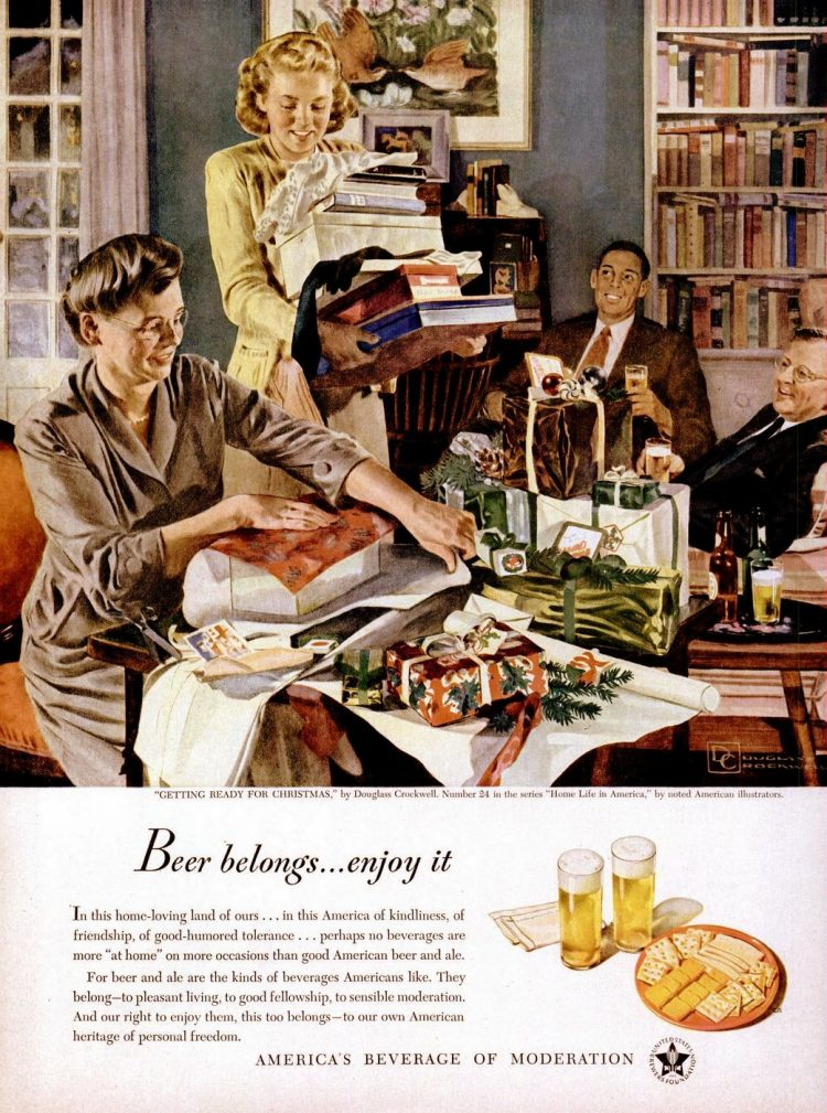 Dec 20, 1948 Christmas beer